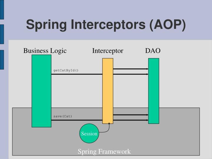Spring Interceptors (AOP)