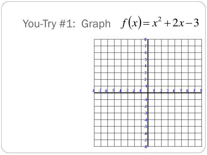 You-Try #1:  Graph
