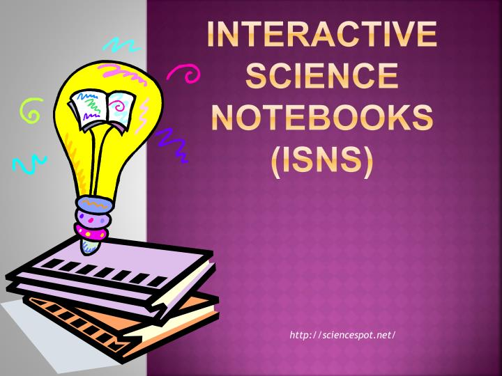 Interactive science notebooks isns