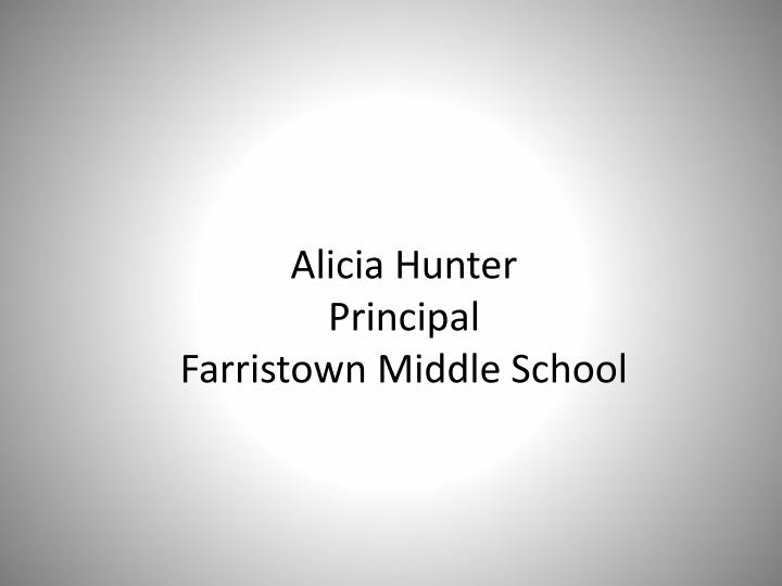 Alicia Hunter