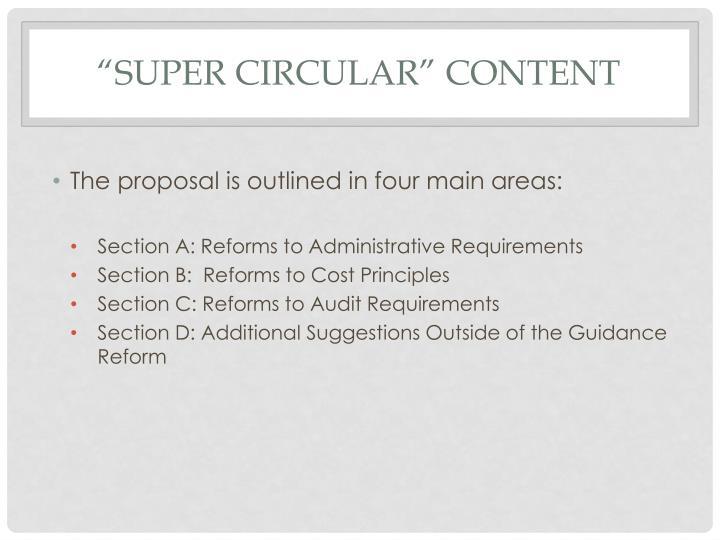 """""""Super circular"""" content"""