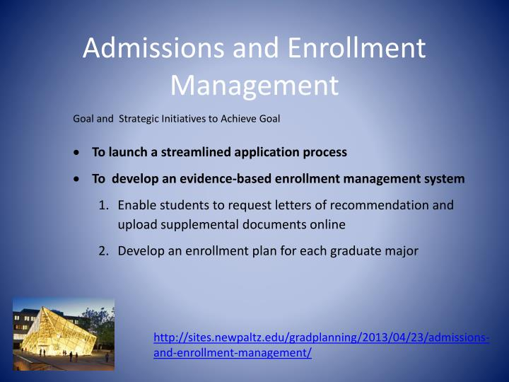 Admissions and Enrollment Management