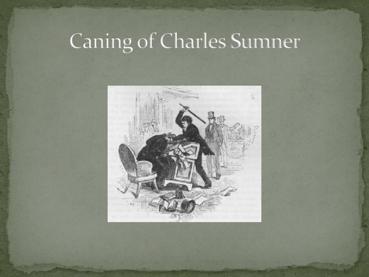 Caning of Charles Sumner