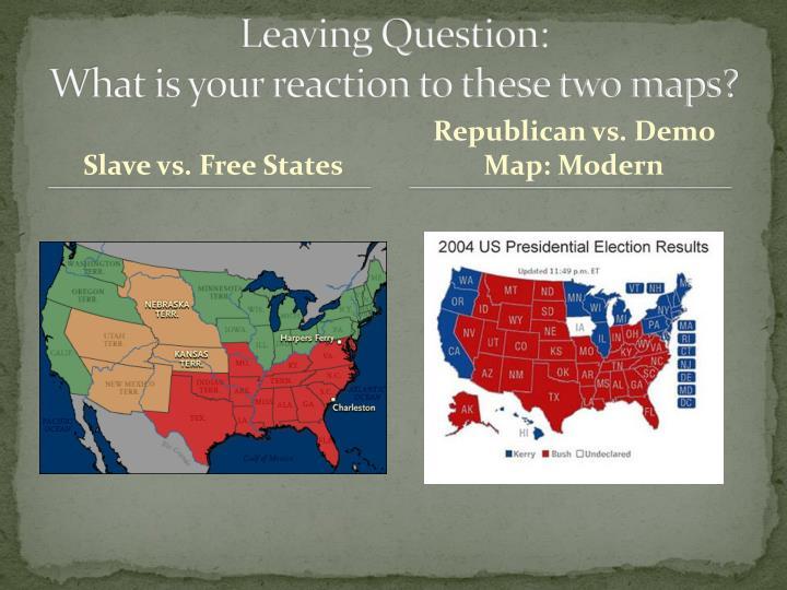 Leaving Question: