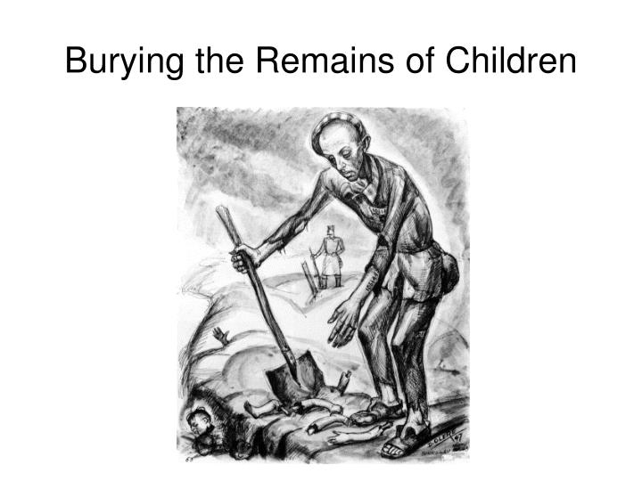 Burying the Remains of Children