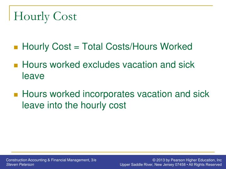 Hourly Cost