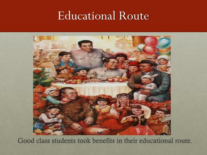 Educational Route