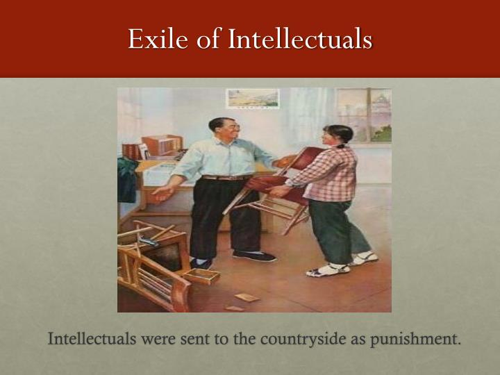 Exile of Intellectuals