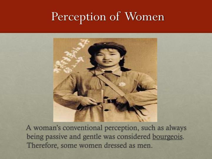Perception of  Women