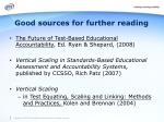good sources for further reading