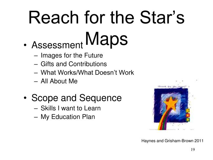 Reach for the Star's Maps