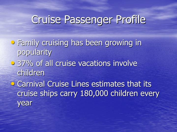 Cruise Passenger Profile