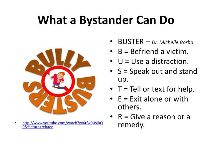 What a Bystander Can Do
