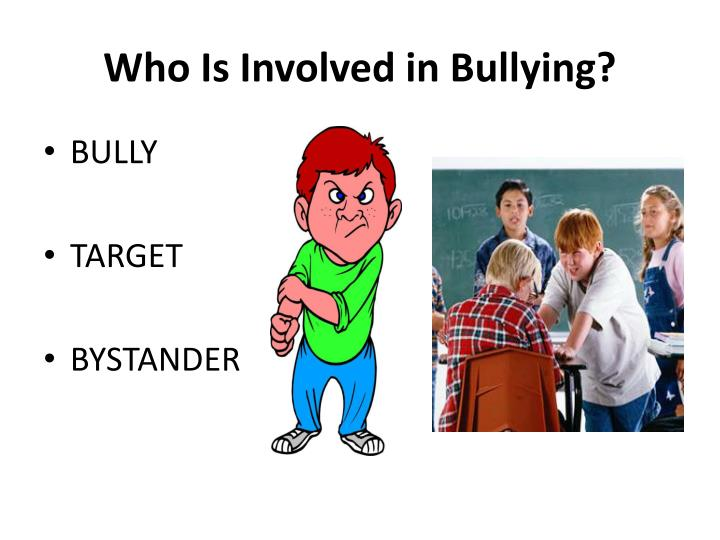 Who Is Involved in Bullying?