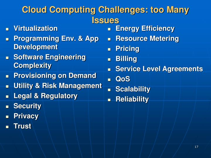 cloud computing issues and challenges pdf