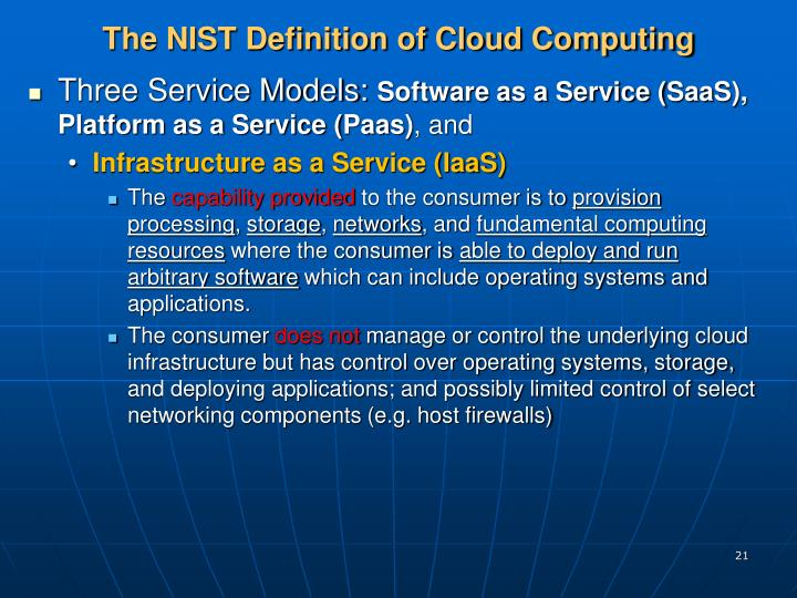 definition cloud government