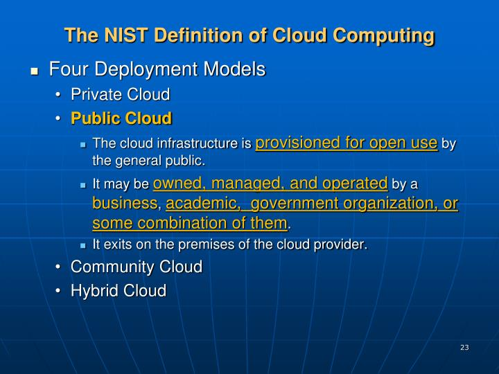 Cloud Computing Dissertation