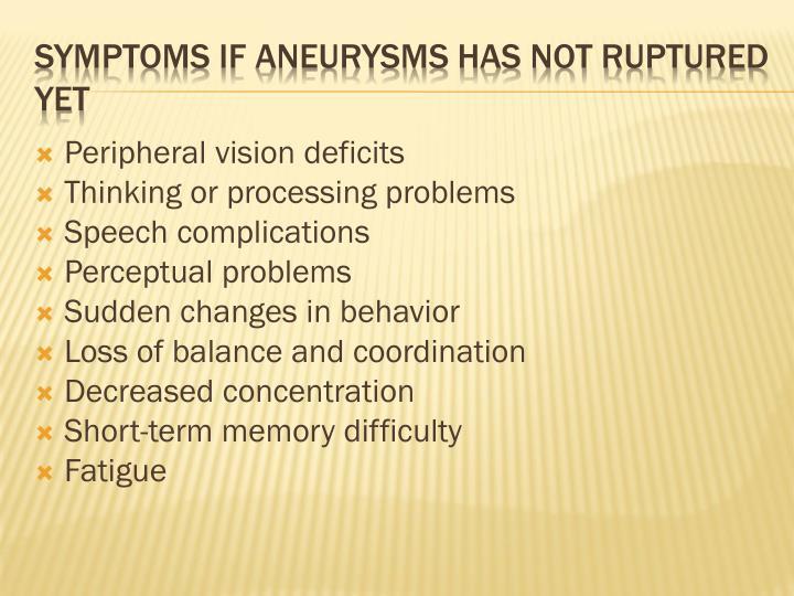 Peripheral vision deficits