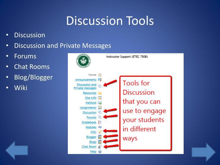 Discussion Tools