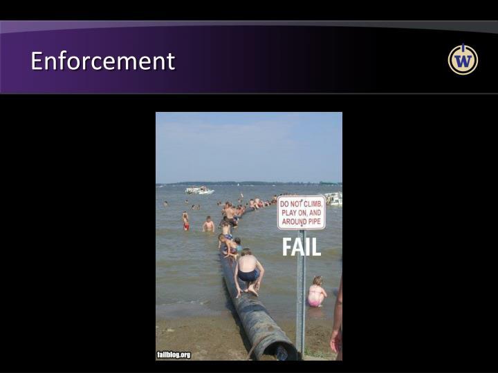 Enforcement