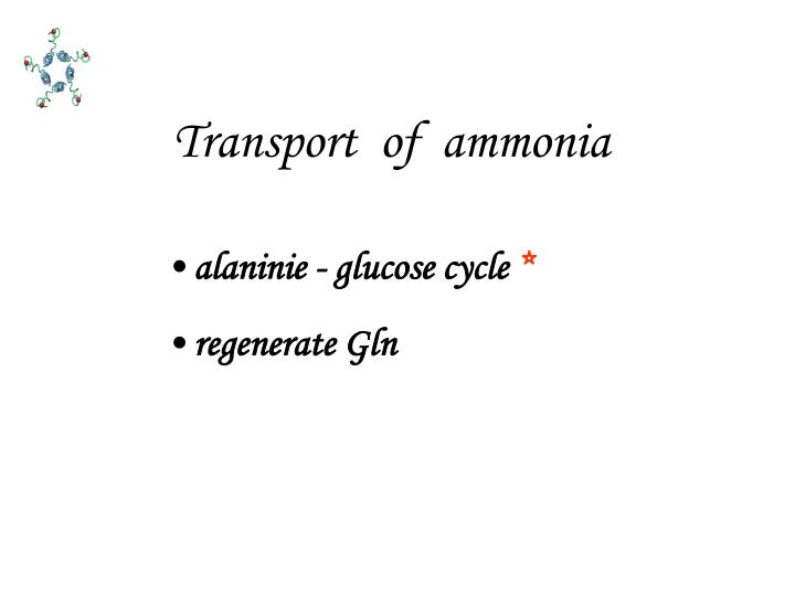 Transport  of  ammonia