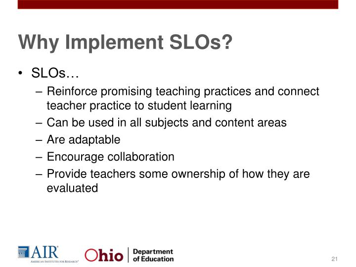 Why Implement SLOs?