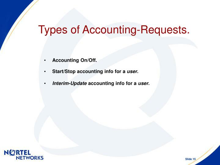 Types of Accounting-Requests.