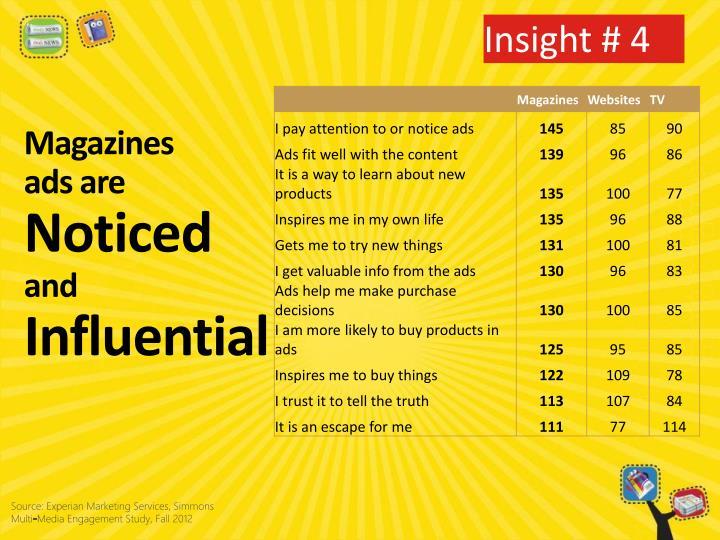 Insight # 4