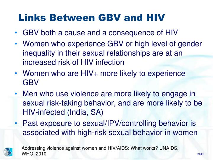 relationship between hiv and gender based violence in tanzania