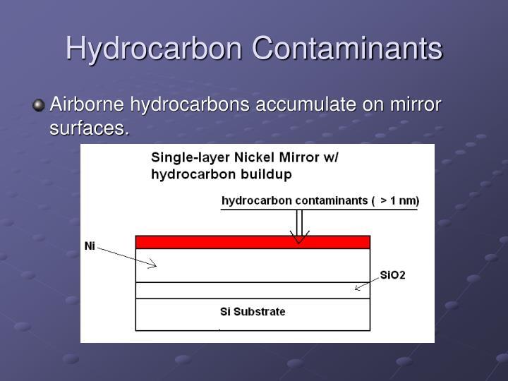 Hydrocarbon Contaminants