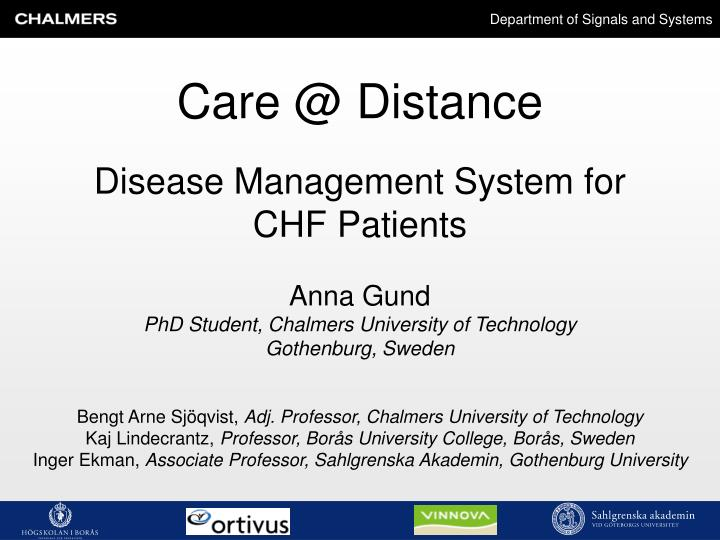 Disease management system for chf patients