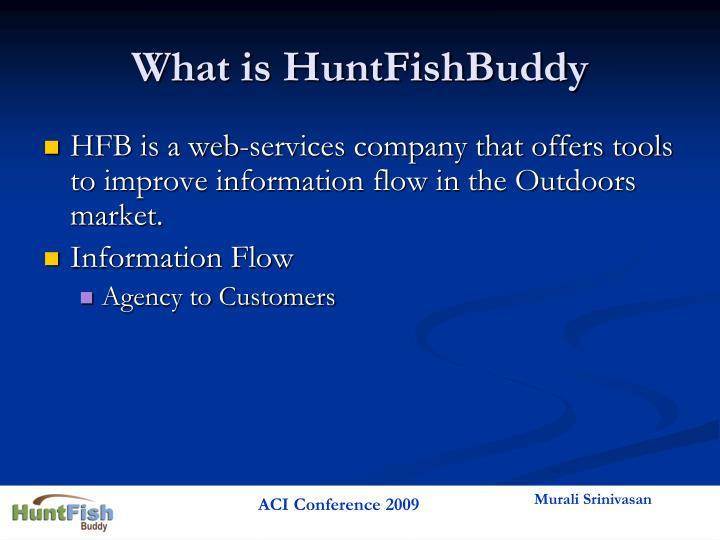 What is HuntFishBuddy