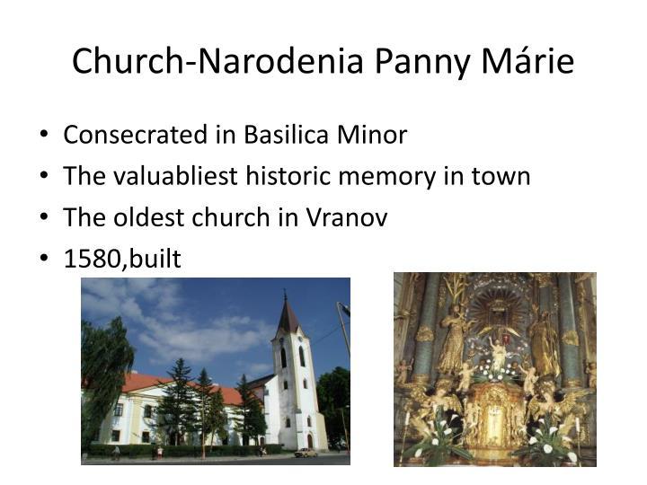 Church-Narodenia Panny Márie