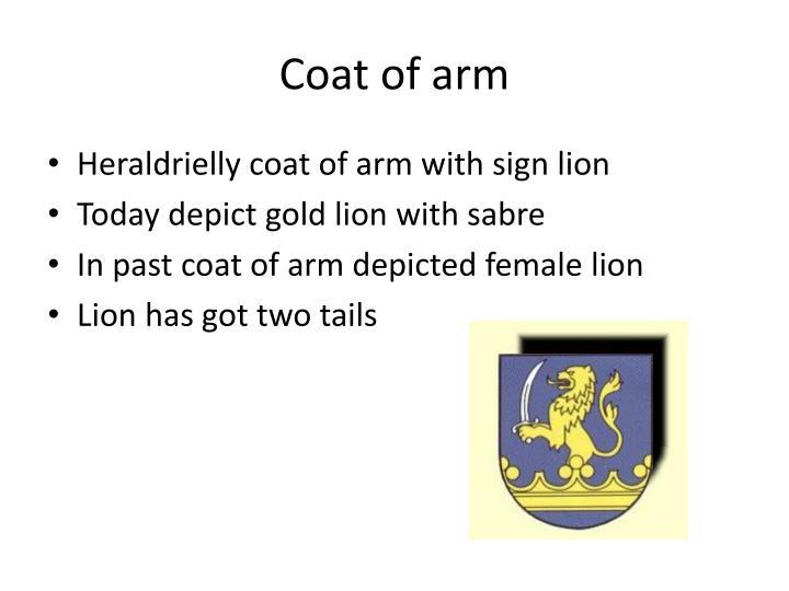 Coat of arm