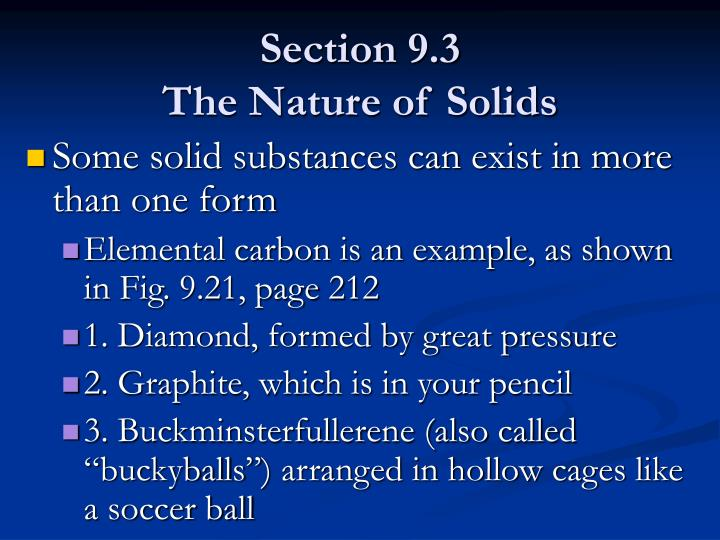 Section 9.3