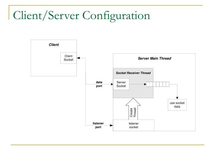 Client/Server Configuration