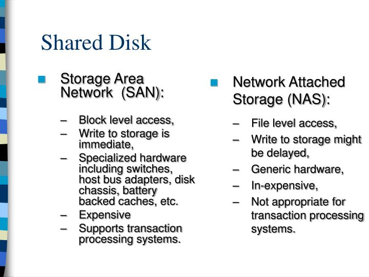 Shared Disk