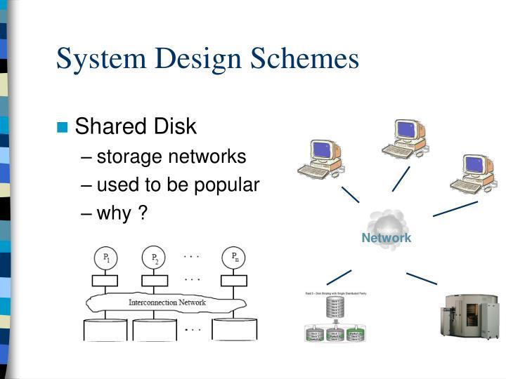 System Design Schemes