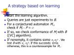 a strategy based on learning