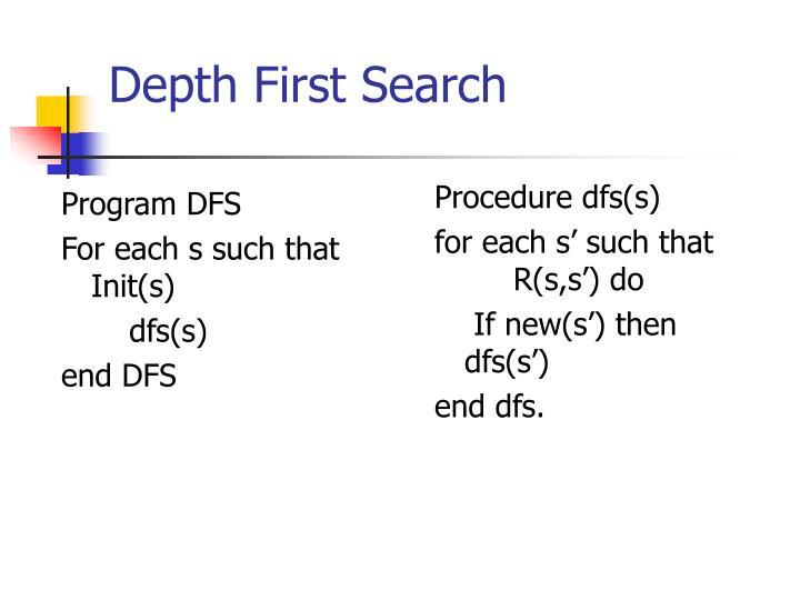 Program DFS