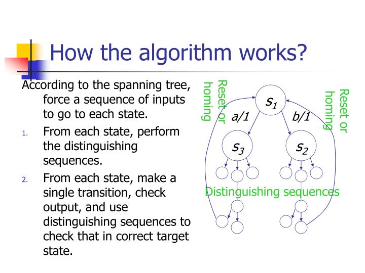 How the algorithm works?