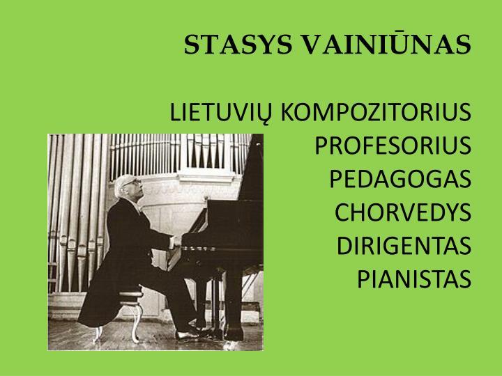 Stasys Vainiūnas S. Vainiūnas 2-sis Koncertas Fortepijonui Ir Simf. Orkestrui
