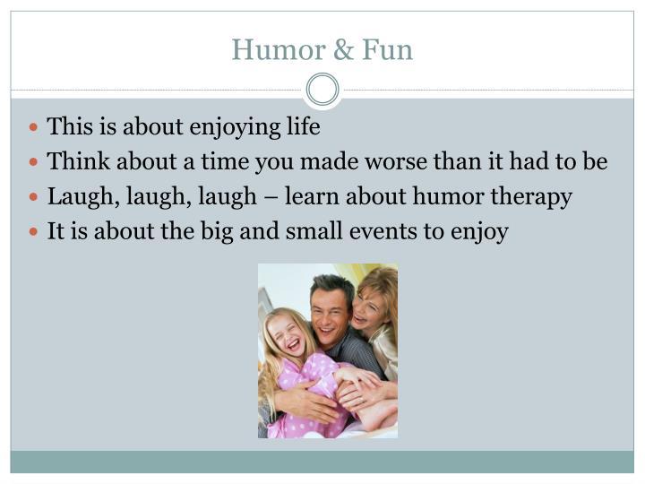 Humor & Fun