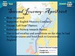 second journey april 1608