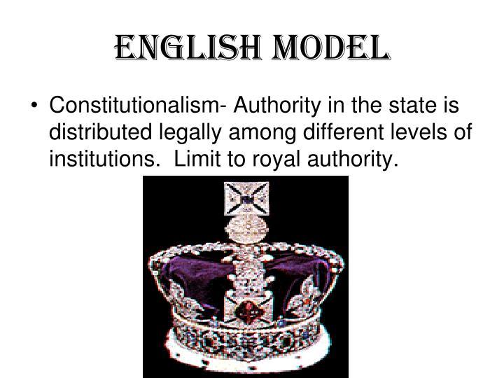 English Model