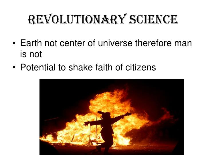 Revolutionary Science