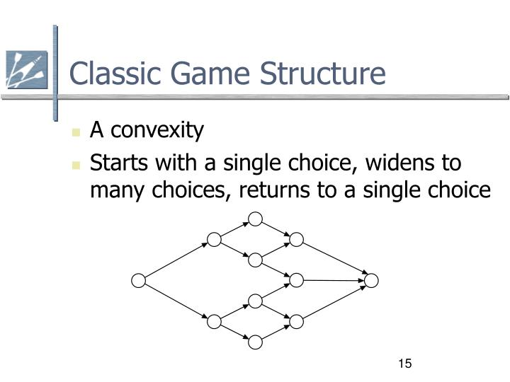 Classic Game Structure