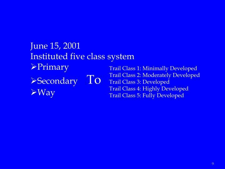 June 15, 2001