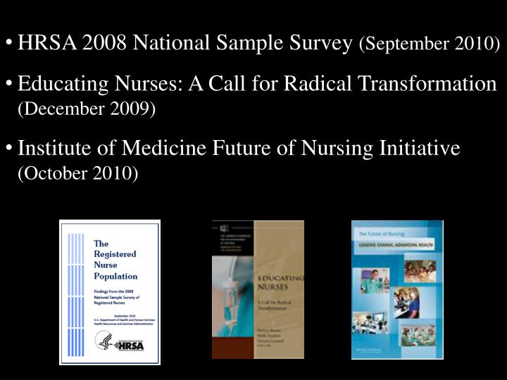 HRSA 2008 National Sample Survey