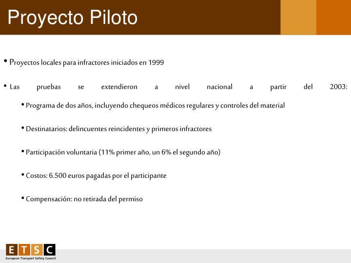 Proyecto Piloto